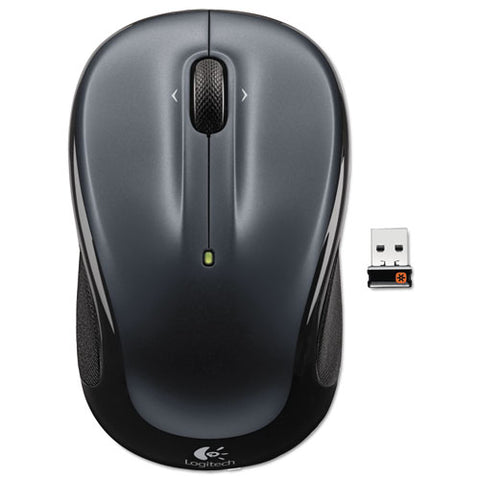 M325 Wireless Mouse, 2.4 Ghz Frequency-30 Ft Wireless Range, Left-right Hand Use, Black