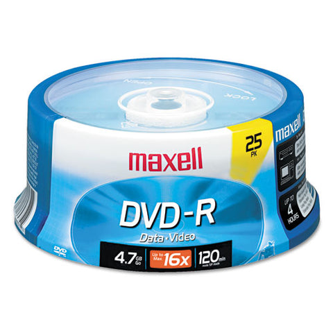 Dvd-r Discs, 4.7gb, 16x, Spindle, Gold, 25-pack