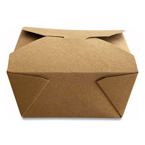 Takeout Containers, 4.37 X 3.5 X 2.52, Kraft, 450-carton