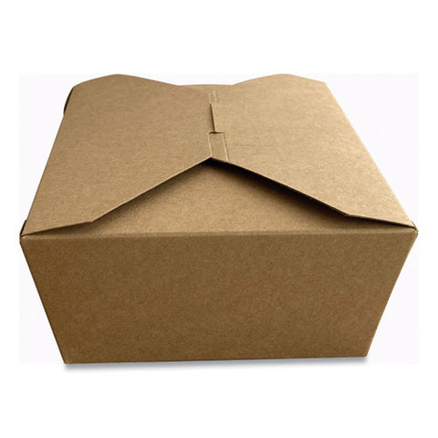 Takeout Containers, 5.98 X 4.72 X 2.51, Kraft, 300-carton