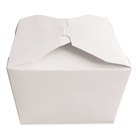 Takeout Containers, 4.37 X 3.5 X 2.52, White, 450-carton
