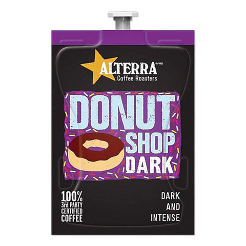 Coffee Freshpack Pods, Donut Shop Dark, Dark Roast, 0.28 Oz, 100-carton