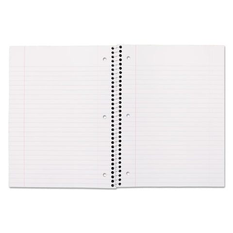 Spiral Notebook, 1 Subject, Wide-legal Rule, Assorted Color Covers, 10.5 X 7.5, 70 Sheets