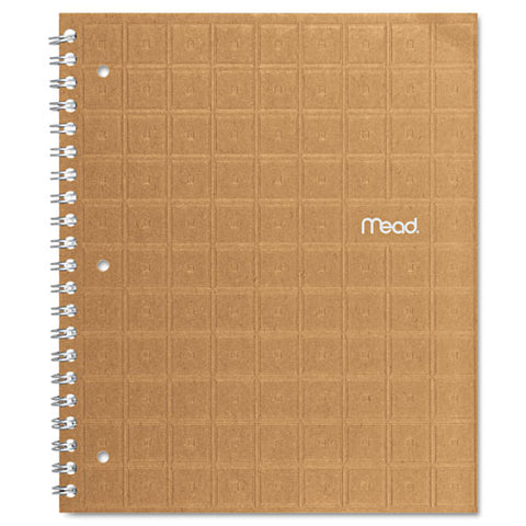 Recycled Notebook, 1 Subject, Medium-college Rule, Assorted Color Covers, 11 X 8.5, 80 Sheets