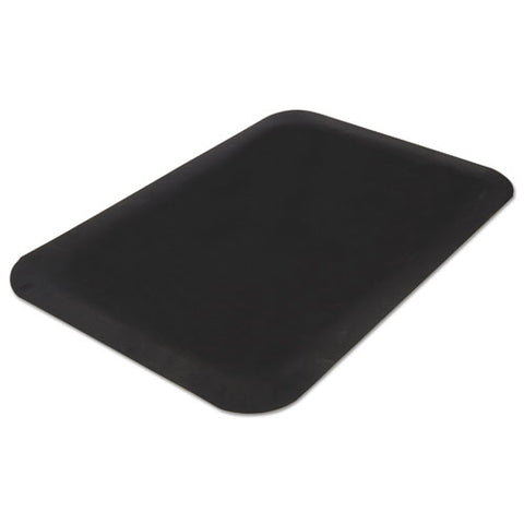 Pro Top Anti-fatigue Mat, Pvc Foam-solid Pvc, 24 X 36, Black