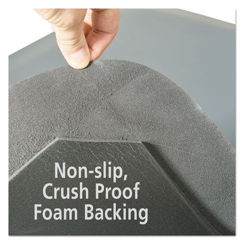 Pro Top Anti-fatigue Mat, Pvc Foam-solid Pvc, 24 X 36, Gray