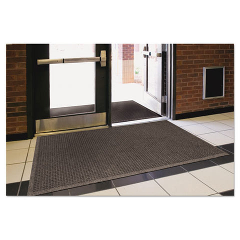 Ecoguard Indoor-outdoor Wiper Mat, Rubber, 24 X 36, Charcoal