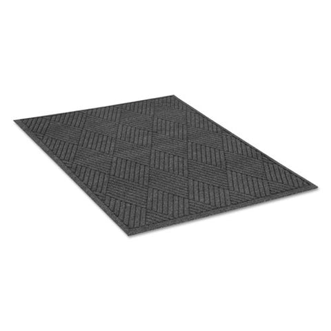 Ecoguard Diamond Floor Mat, Rectangular, 36 X 60 Charcoal