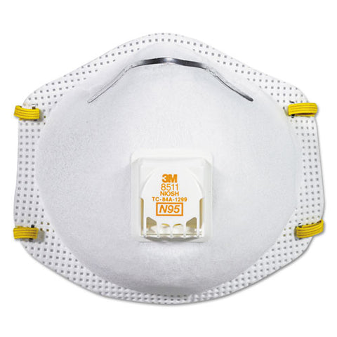 Particulate Respirator W-cool Flow Exhalation Valve, 10 Masks-box