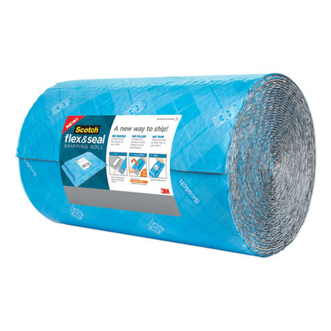 "Flex And Seal Shipping Roll, 15"" X 50 Ft, Blue-gray"