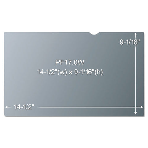 "Frameless Blackout Privacy Filter For 14.1"" Laptop"