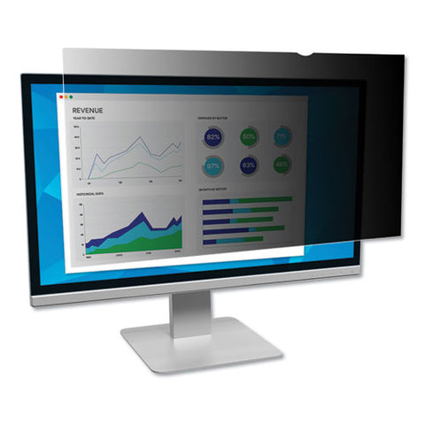 "Frameless Blackout Privacy Filter For 19"" Monitor"