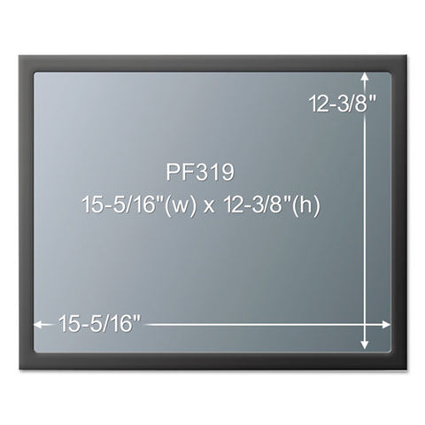 "Framed Desktop Monitor Privacy Filter For 18.1""-19"" Lcd-19"" Crt"