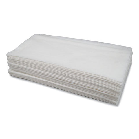 Morsoft Dispenser Napkins, 1-ply, 11.5 X 13, White, 250-pack, 24 Packs-carton