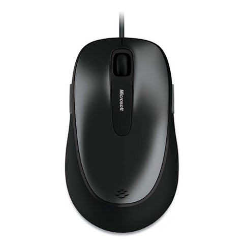 Comfort 4500 Wired Optical Mouse, Usb, Left-right Hand Use, Loch Ness Gray