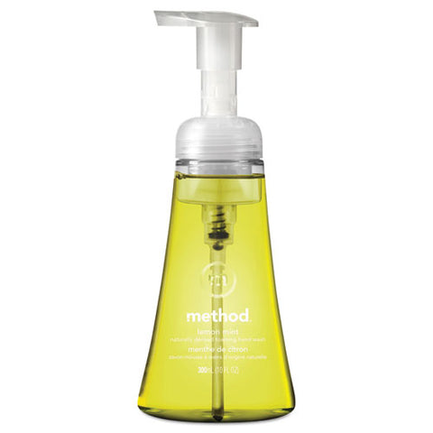Foaming Hand Wash, Lemon Mint, 10 Oz Pump Bottle