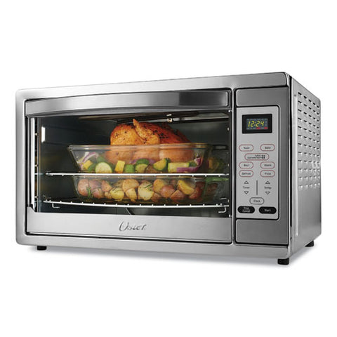 Extra Large Digital Countertop Oven, 21.65 X 19.2 X 12.91, Stainless Steel