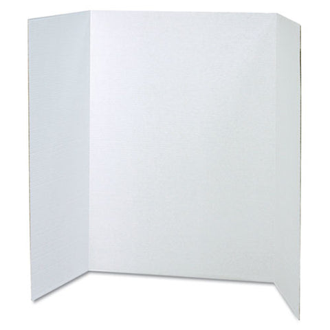 Spotlight Corrugated Presentation Display Boards, 48 X 36, White, 4-carton