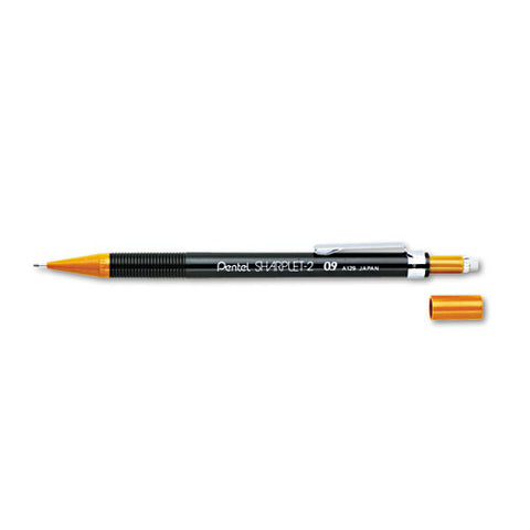 Sharplet-2 Mechanical Pencil, 0.9 Mm, Hb (#2.5), Black Lead, Brown Barrel