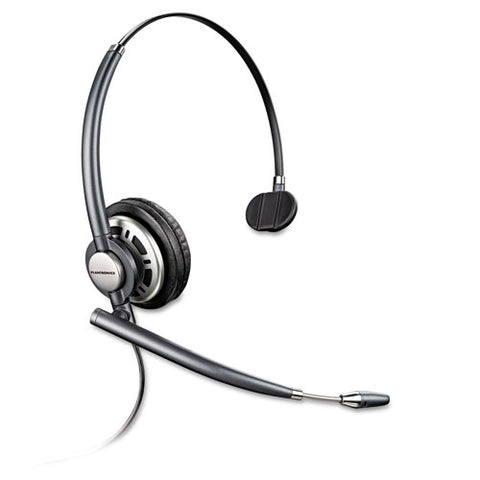 Encorepro Premium Monaural Over-the-head Headset With Noise Canceling Microphone