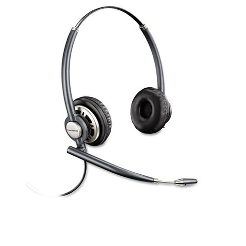 Encorepro Premium Binaural Over-the-head Headset With Noise Canceling Microphone