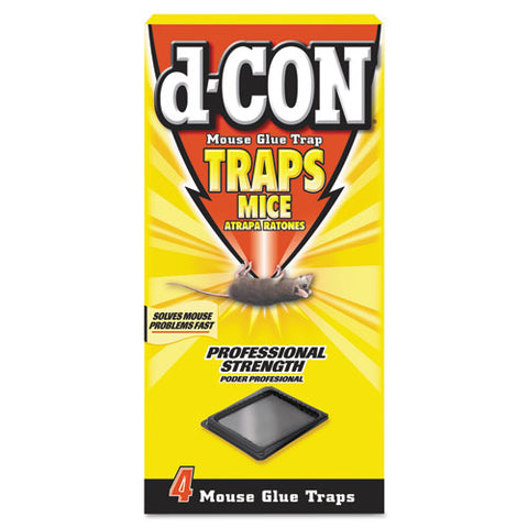 Mouse Glue Trap, Plastic, 4 Traps-box, 12 Boxes-carton