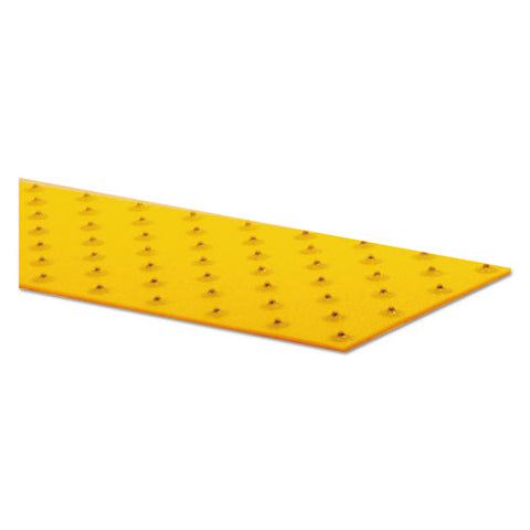 "Xtremegrip Studded Anti-slip Adhesive Strips, 5"" X 24"", Yellow"