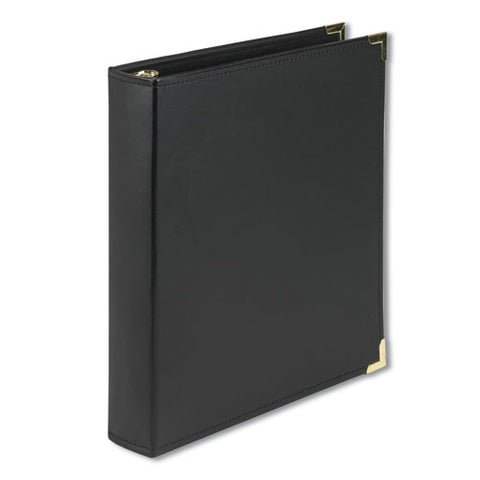 "Classic Collection Ring Binder, 3 Rings, 1.5"" Capacity, 11 X 8.5, Black"