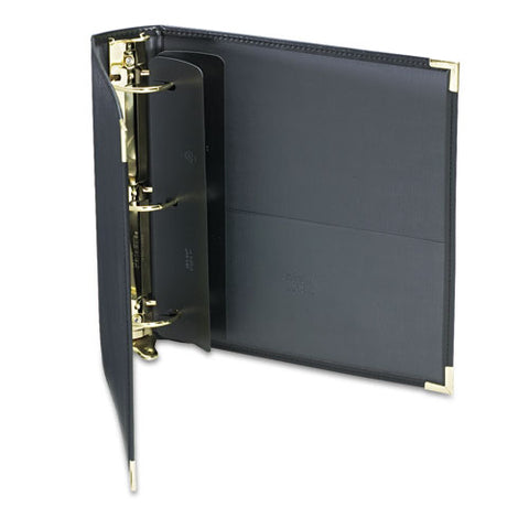 "Classic Collection Ring Binder, 3 Rings, 2"" Capacity, 11 X 8.5, Black"