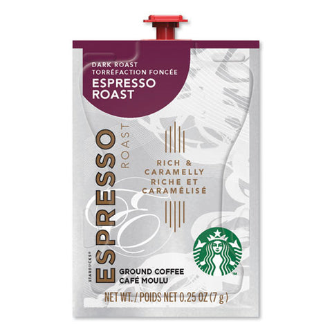 Flavia Coffee Freshpacks, Espresso Dark Roast, 0.25 Oz Freshpack, 72-carton