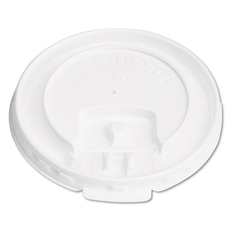 Lift Back And Lock Tab Cup Lids For Foam Cups, For Slox8j, White, 2000-carton