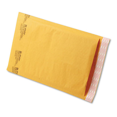 Jiffylite Self-seal Bubble Mailer, #3, Barrier Bubble Lining, Self-adhesive Closure, 8.5 X 14.5, Golden Kraft, 100-carton