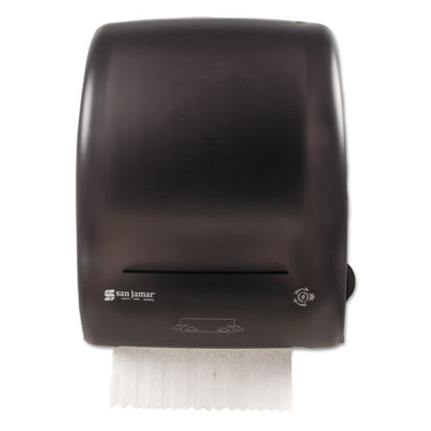 Simplicity Mechanical Roll Towel Dispenser, 15.25 X 13 X 10.25, Black