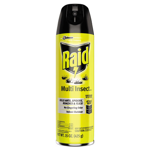 Multi Insect Killer, 15 Oz Aerosol Can, 12-carton