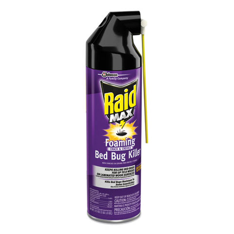 Foaming Crack And Crevice Bed Bug Killer, 17.5 Oz, Aerosol