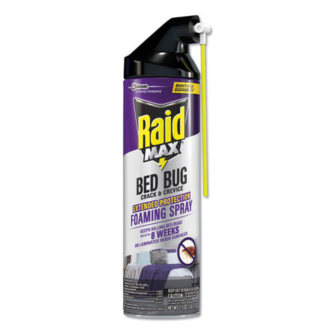 Foaming Crack And Crevice Bed Bug Killer, 17.5 Oz, Aerosol, 6-carton