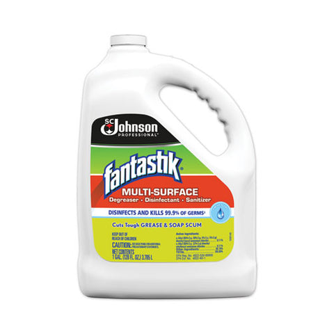 Multi-surface Disinfectant Degreaser, Pleasant Scent, 1 Gallon Bottle, 4-carton