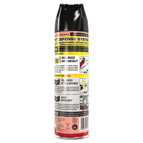 Ant And Roach Killer, 17.5oz Aerosol, Outdoor Fresh, 12-carton