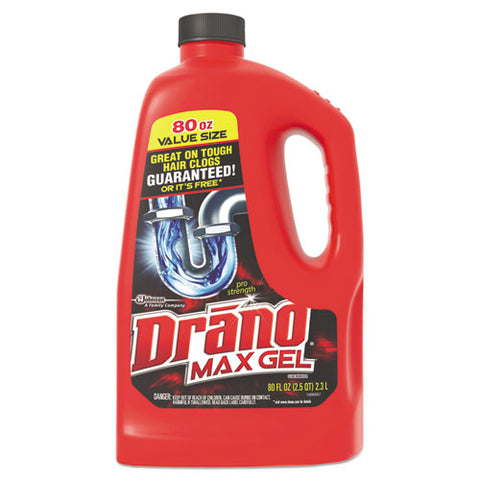 Cleaner,drano,80oz 6cs