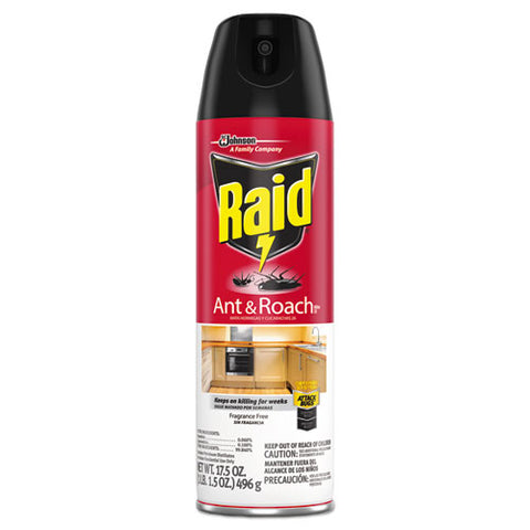 Fragrance Free Ant And Roach Killer, 17.5oz Aerosol Can