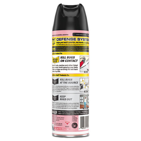 Fragrance Free Ant And Roach Killer, 17.5 Oz Aerosol Can, 12-carton
