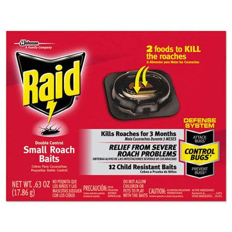 Roach Baits, 0.63 Oz Box, 12-carton