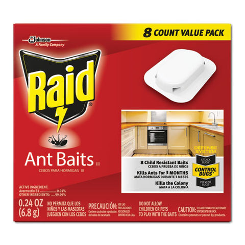 Ant Baits, 0.24 Oz, 8-box, 12 Boxes-carton
