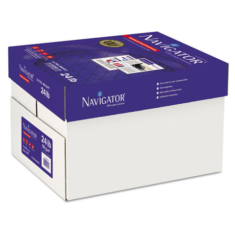 Premium Multipurpose Copy Paper, 97 Bright, 24 Lb, 11 X 17, White, 500 Sheets-ream, 5 Reams-carton