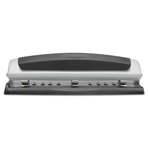 "10-sheet Precision Pro Desktop Two-to-three-hole Punch, 9-32"" Holes"