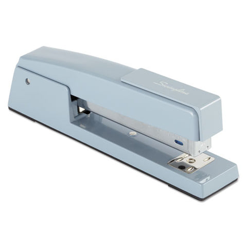 747 Classic Full Strip Stapler, 20-sheet Capacity, Sky Blue