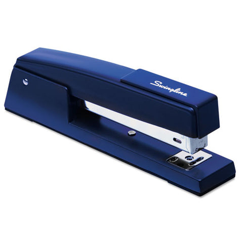 747 Classic Full Strip Stapler, 20-sheet Capacity, Royal Blue