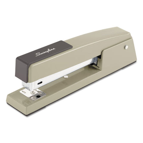 747 Classic Full Strip Stapler, 20-sheet Capacity, Steel Gray