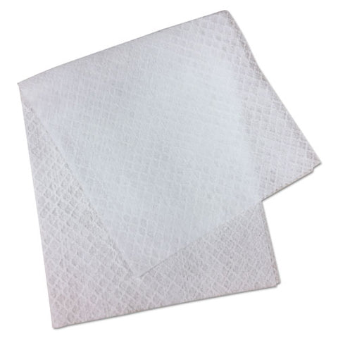 "L3 Quarter-fold Wipes, 3-ply, 7"" X 6"", White, 60 Towels-pk"
