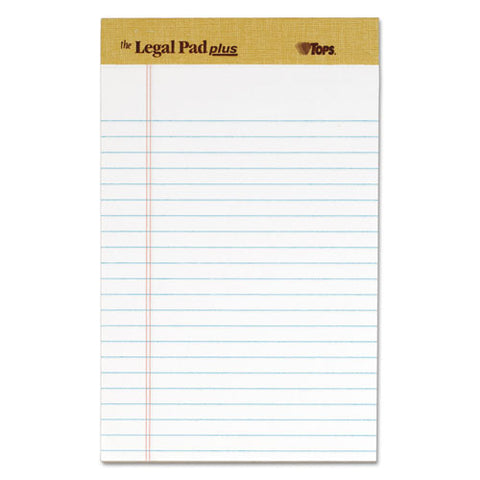 """the Legal Pad"" Perforated Pads, Narrow Rule, 5 X 8, White, 50 Sheets, Dozen"